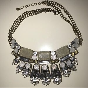 Forever 21 Diamond Statement Necklace